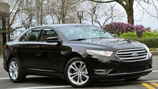 2015 Ford Taurus Start Up and Review 2.0 L Turbo 4-Cylinder