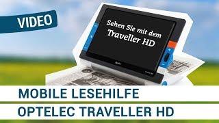 Produktvideo zu Extra große mobile Lesehilfe Optelec Traveller HD
