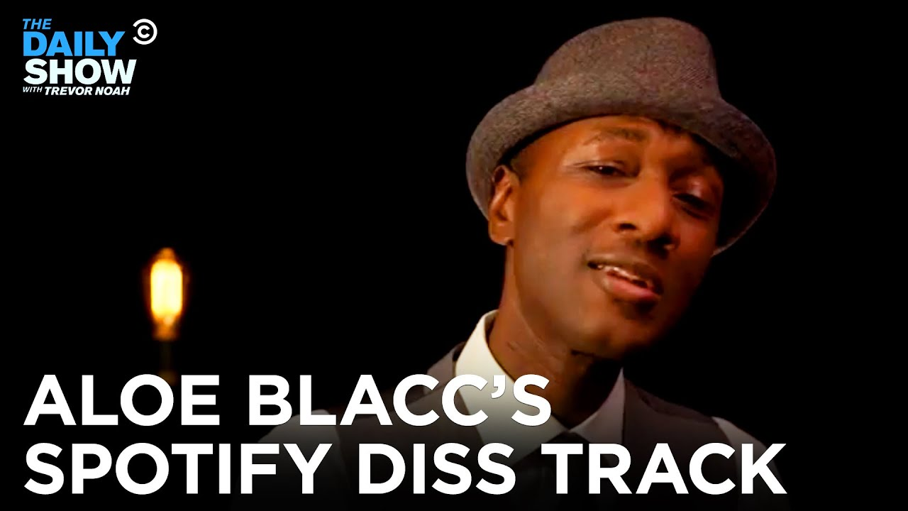 Aloe Blacc Takes On The Music Streaming Business With A Remix of His Hit Song   The Daily Show
