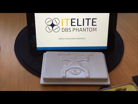 "Results of ""real world"" install and range testing of the DBS ITElite antenna for Phantom Vision+"