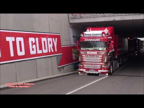 Scania V8 Loud Open Pipes Sound - Ronny Ceusters & PWT Thermo