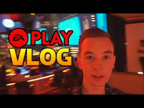 Star Wars Battlefront II EA Play Vlog! (Featuring too many fidget spinners)