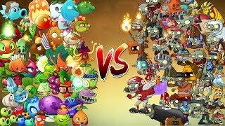 PvZ 2 EPIC Todas las Plantas vs Todos los Zombies All Plants vs All Zombies