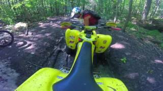 Dirtbike Mudding | ATV Gets Stuck in Mud | ATV fail