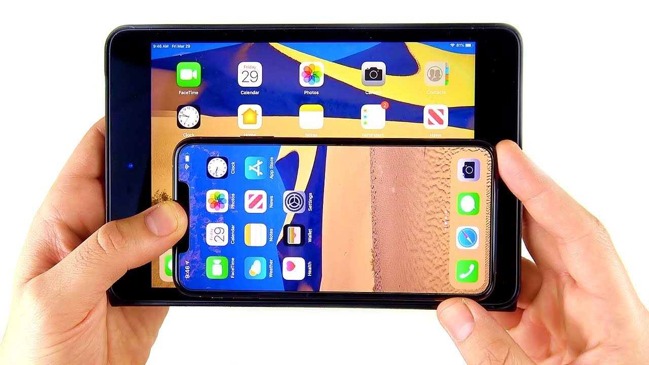 Why Iphone Xs Max Does Not Replace Ipad Mini Youtube
