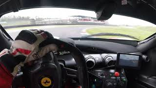 "Ferrari FXX K (ONBOARD) ""Mugello"" circuit (315 kph) ...(read description bellow please)"