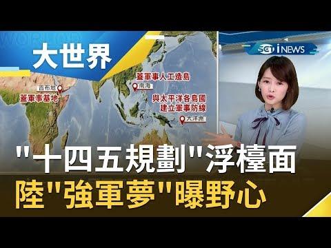 '中國製造2025'將取代! 中國'十四五規劃'將浮出檯面!? 陸'強軍夢'野心外露|主播