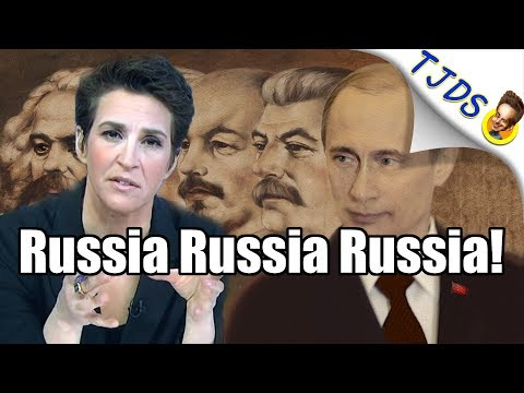 Hilarious Mash-Up Of Rachel Maddow's Crazy Russia Coverage