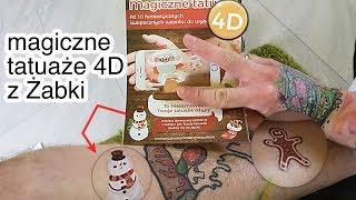 Magiczne Tatuaże 4D z Żabki - jak działają? | Projekt INK