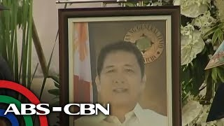 TV Patrol: Pakikiramay, bumuhos sa burol ng pinaslang na General Tinio mayor