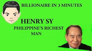 Billionaire Henry Sy in 3 Minutes Filipino richer than George Soros and Donald Trump combined