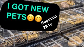 REPTICON 2K18 - I GOT NEW ANIMALS