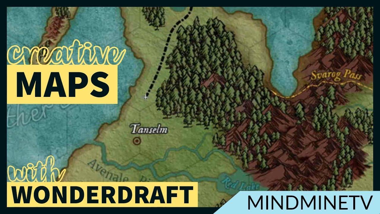 Creative Map Making with Wonderdraft | MindMineTV