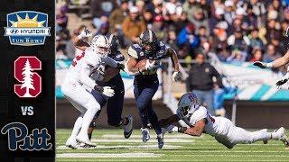 Stanford vs. Pittsburgh Sun Bowl Highlights (2018)