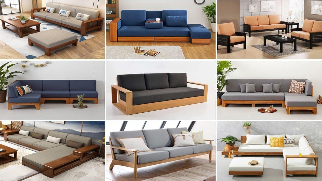 Download Best 140 Modern Wooden Sofa Designs 2022   Living Room Sofa Design   Wooden Sofa Set Design Ideas