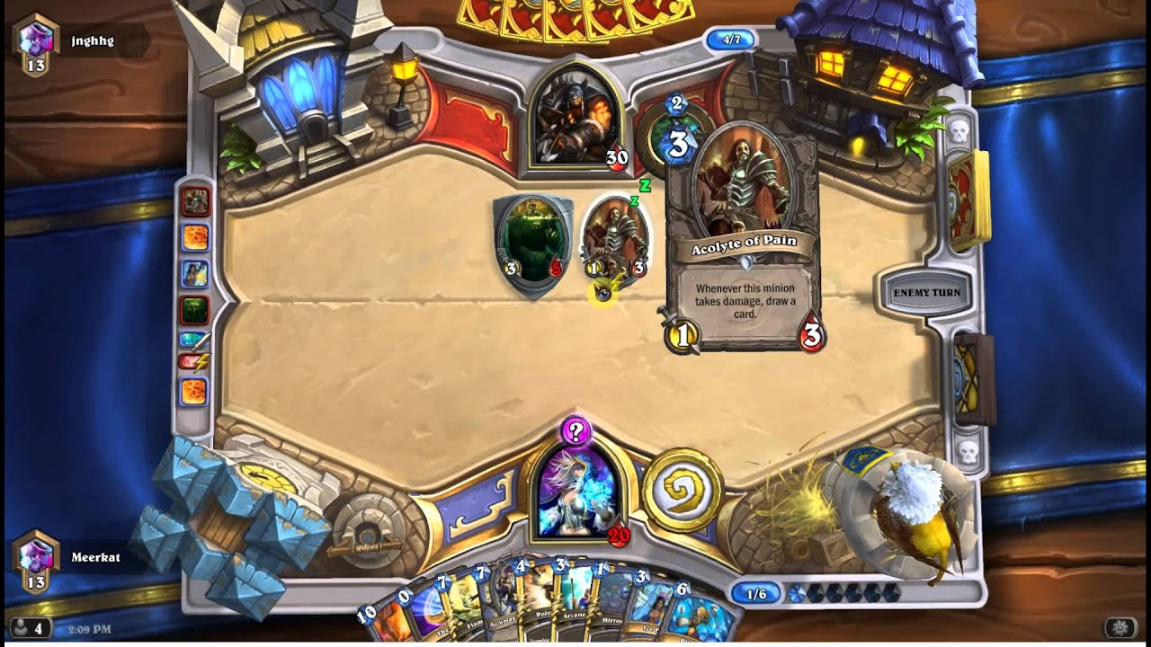 Hearthstone Priest Control Deck Tech and Playtest - YouTube