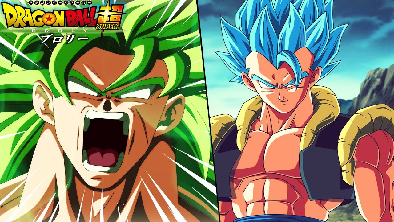 Broly Vs Gogeta Blue In The Dragon Ball Super Broly Movie? #1