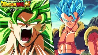 Broly Vs Gogeta Blue In The Dragon Ball Super Broly Movie?