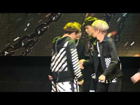 Trespass (무단침입) - Monsta X (몬스타엑스) Live @ Debut Showcase