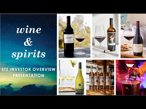 Constellation Brands Wine And Spirits Investor Presentation