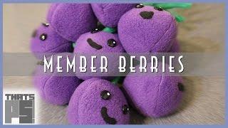 DIY Member Berries Plush
