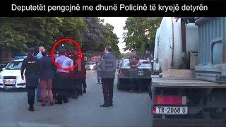 A1 Report - Kur ish-ministri Noka dhe deputët e PD përleshen me policinë