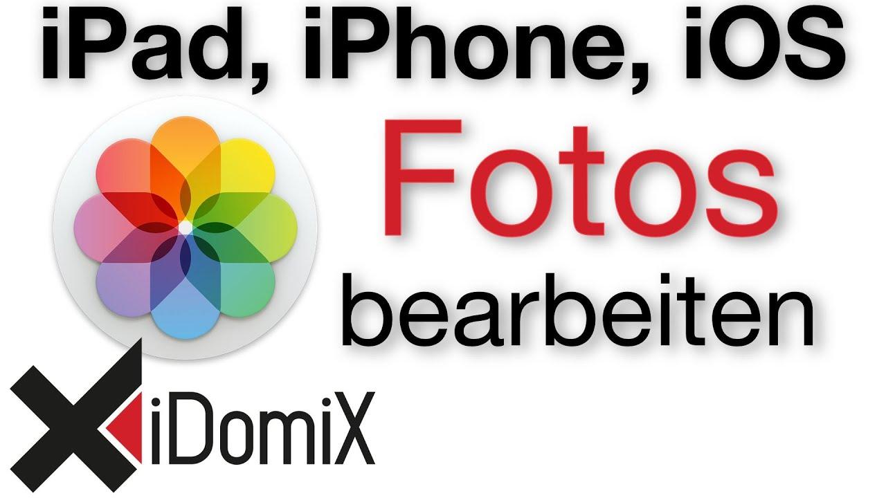 Fotos bearbeiten am iPad und iPhone Fotos App, PS Express ...