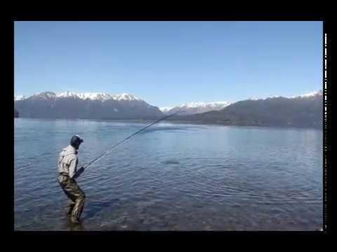 Buen arranque de la temporada de pesca en la cordillera neuquina