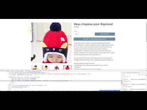 Shopify - Etape II de Ajouter un Bouton ATC : Modifier le Design