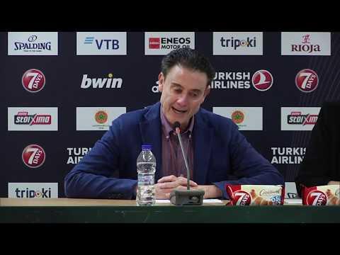 Euroleague Post - Game Press Conference: Panathinaikos ΒC OPAP vs KIROLBET Baskonia Vitoria-Gasteiz