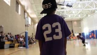 My sons first time playing basketball game #23-WLF