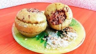 Вкусные печеные яблоки! Рецепты для детей.