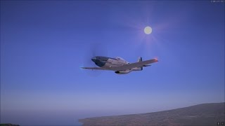 A2A North American P-51D Mustang Hawaii Flight - FSX:SE