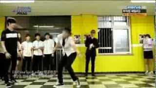 130802 [ENG SUB] MBLAQ Seungho, Thunder, G.O - Dance Battle @ The Dramatic EP.1
