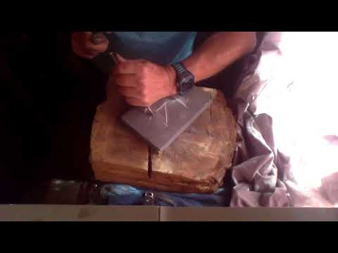 150 seconds to hand carve slate number