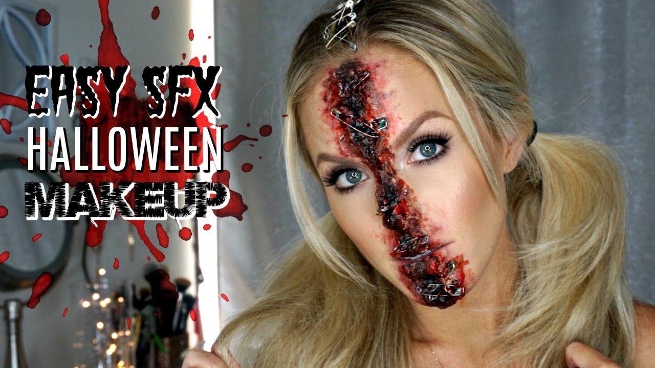 Easy Special Effects Makeup | Halloween Makeup Tutorial