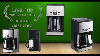 Video Coffee Maker SWIGM 15-Cup Great Choice Best Review 2018 download MP3, 3GP, MP4, WEBM, AVI, FLV Agustus 2018