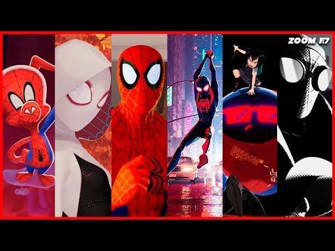 Into the spider-verse: la mejor película de Spiderman.