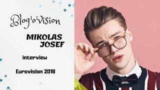 Mikolas Josef: interview at Eurovision 2018