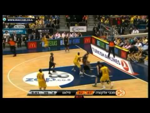 Jordan Farmar Highlights Vs Armani Milano (24.11.11)
