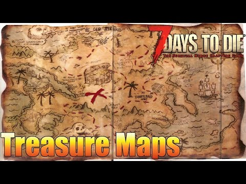 7 Days to Die - How to find Buried Treasure (Alpha 15)