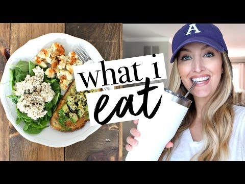 WHAT I EAT IN A DAY PREGNANT | 2nd Trimester | Becca Bristow