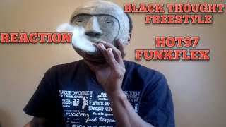 BLACK THOUGHT FREESTYLE REACTION ON FUNK FLEX HOT97