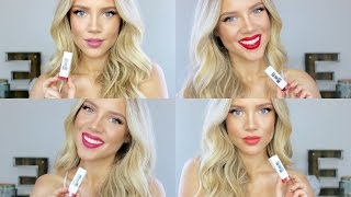 One of elanna pecherle's most viewed videos: CoverGirl X Katy Kat Matte Lipstick SWATCHES