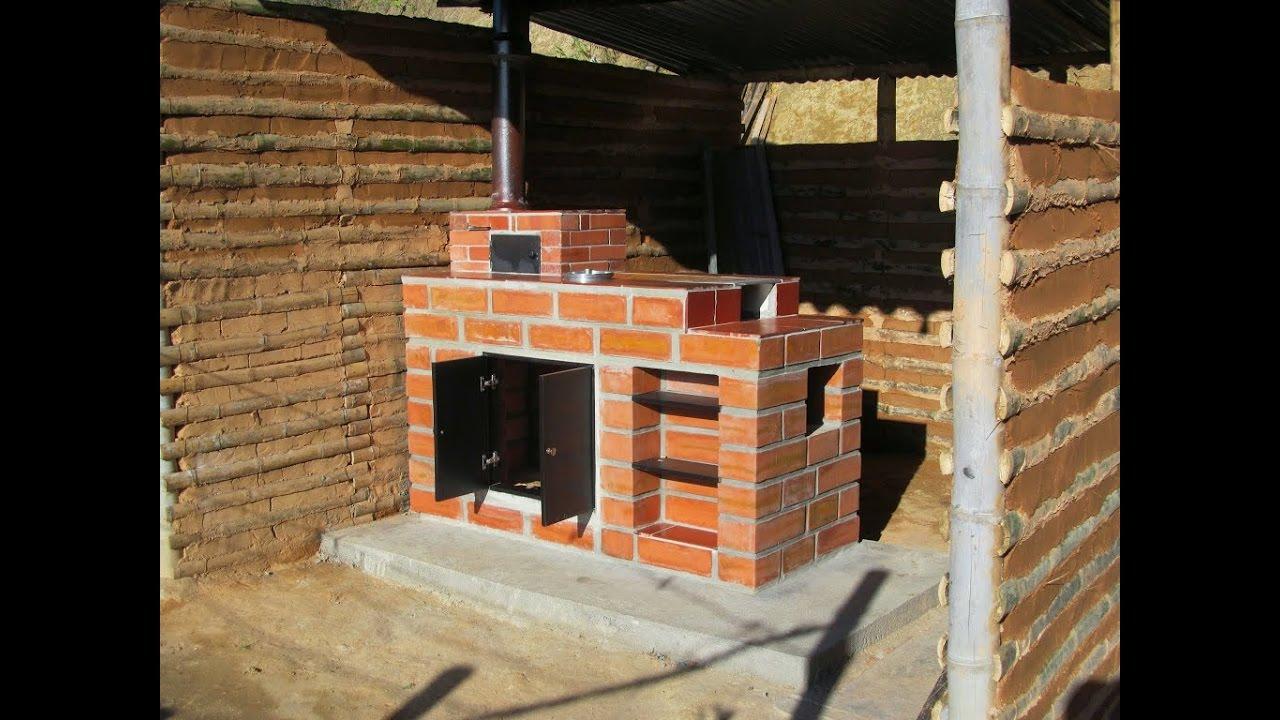Construcci n y beneficios de una estufa ecol gica tvagro for Fogones rusticos en ladrillo