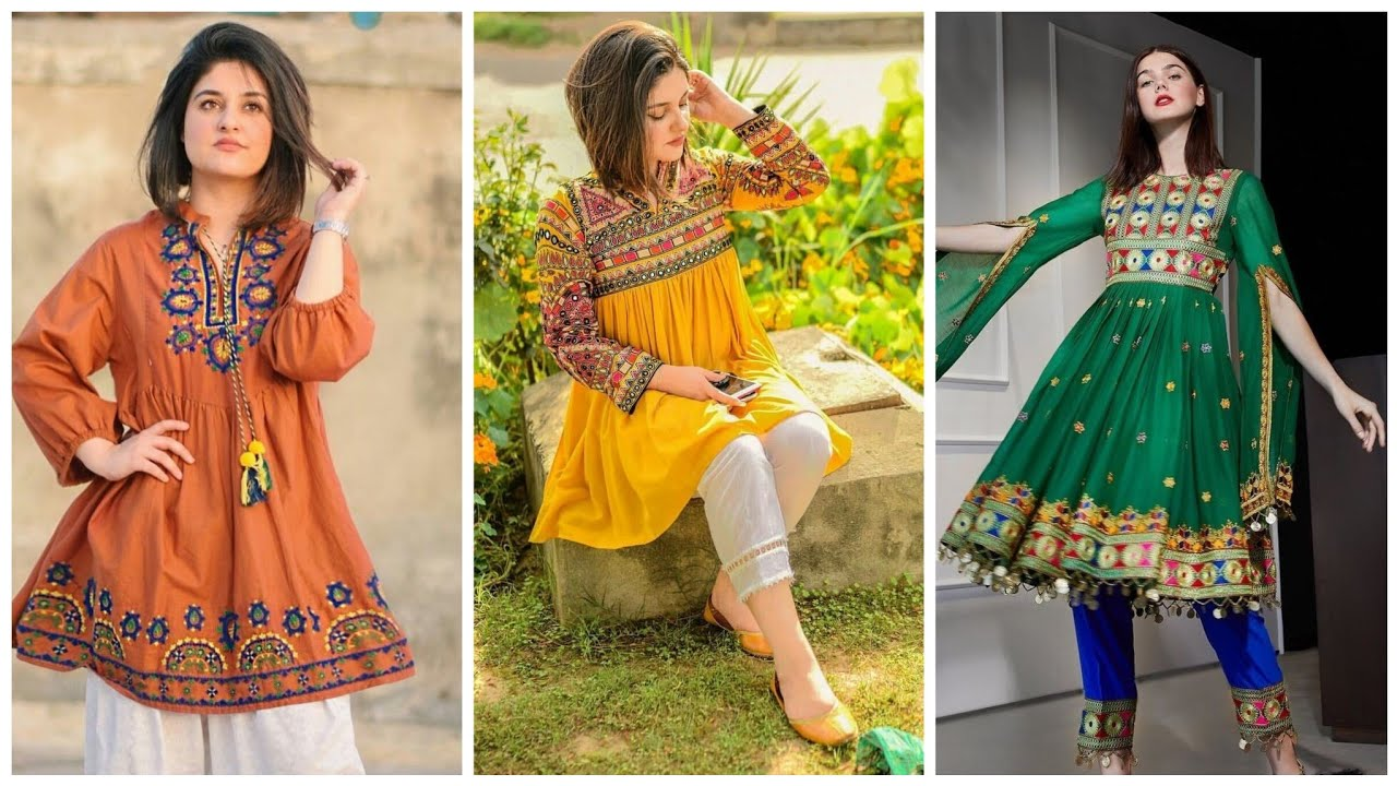 Latest Traditional Sindhi Embroidered Dresses Collection 2019