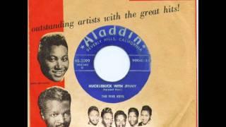 FIVE KEYS - HUCKLEBUCK WITH JIMMY / THE GLORY OF LOVE - ALADDIN 3099 - 7/51