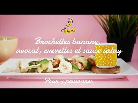 brochettes-banane,-avocat,-crevettes-et-sauce-satay