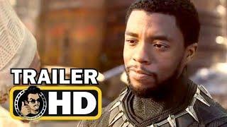 BLACK PANTHER Official TV Spot Trailer - Long Live the King (2018) Marvel Superhero Movie HD