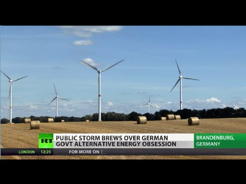 Tilting Windmills: Public outcry over Germany alternative energy obsession grows